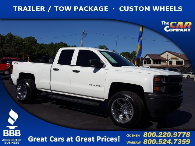 2014 chevrolet silverado 1500 work truck 4x4 work truck 4dr double cab 6 5 ft sb w 1wt for sale. Black Bedroom Furniture Sets. Home Design Ideas