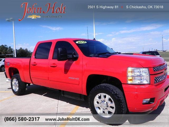 2014 chevrolet silverado 2500hd lt 4x4 lt 4dr crew cab sb for sale in chickasha oklahoma. Black Bedroom Furniture Sets. Home Design Ideas