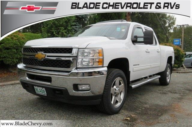 Chevrolet Silverado 3500hd Seattle >> 2014 Chevrolet Silverado 3500HD LTZ 4x4 LTZ 4dr Crew Cab SRW for Sale in Mount Vernon ...