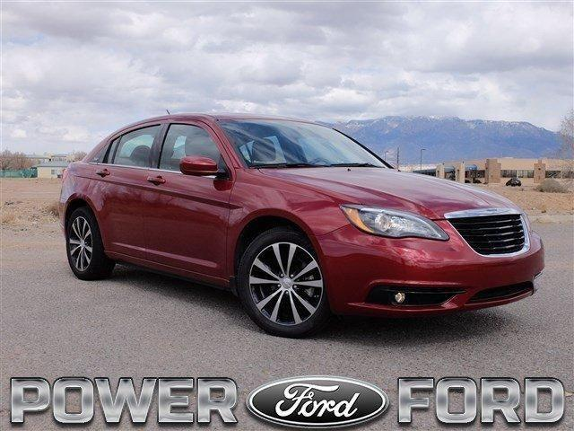 2014 chrysler 200 4dr car touring for sale in albuquerque new mexico classified. Black Bedroom Furniture Sets. Home Design Ideas