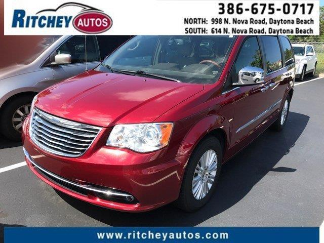 2014 chrysler town and country limited limited 4dr mini van for sale in daytona beach florida. Black Bedroom Furniture Sets. Home Design Ideas