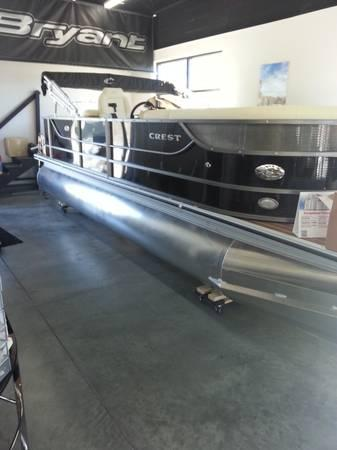 2014 Crest Iii Pontoon Boat For Sale In Johnson City