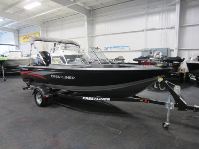 2014 Crestliner 1650 Fish Hawk WT With Factory Engine Warranty