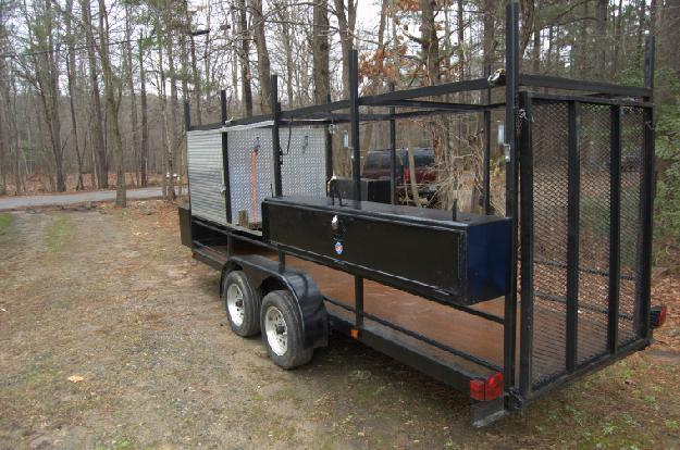 2014 Custom 16x4 Flat Bed Trailer In Apex Nc For Sale In