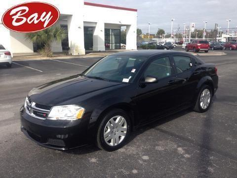 2014 DODGE AVENGER 4 DOOR SEDAN