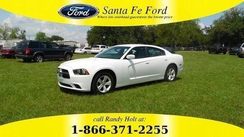 2014 DODGE CHARGER 4 DOOR SEDAN