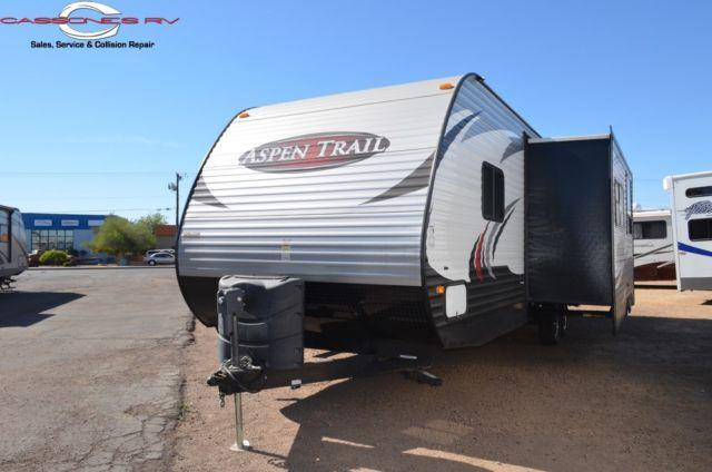2014 Dutchmen Aspen Trail Travel Trailer Bunkhouse For