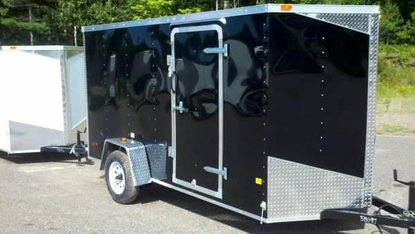 2014 enclosed 6X12 & 6X14 trailers - $2699