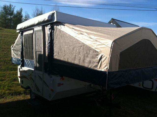 2014 Flagstaff 176ltd Pop Up Camper Power Lifter System