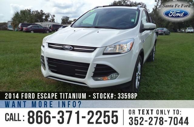 2014 Ford Escape Titanium - 19K Miles - On-Site