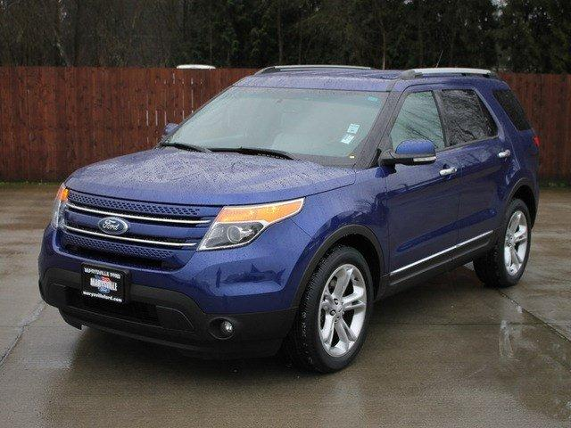 2014 ford explorer 4x4 limited 4dr suv for sale in marysville washington classified. Black Bedroom Furniture Sets. Home Design Ideas