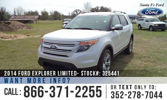 2014 Ford Explorer Limited - Sticker $40,955 - YOUR