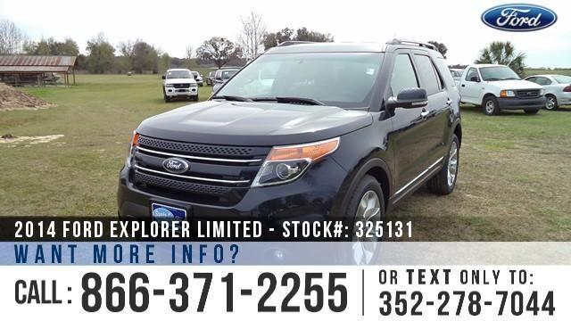 2014 Ford Explorer Limited - Sticker $42,760 - YOUR
