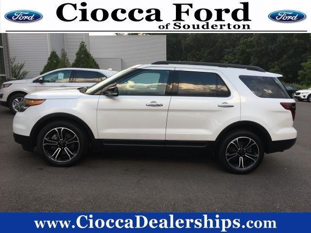 2014 ford explorer sport awd sport 4dr suv for sale in souderton pennsylvania classified. Black Bedroom Furniture Sets. Home Design Ideas