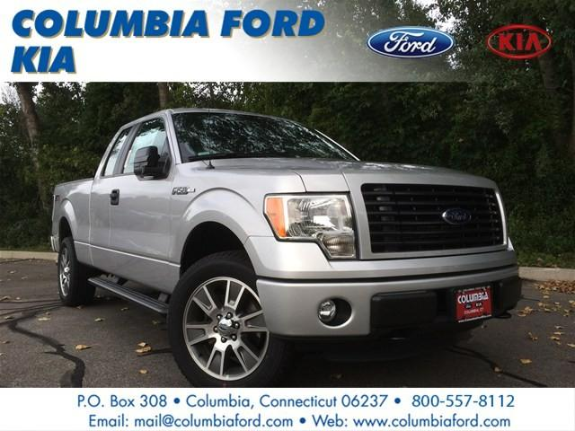 2014 ford f 150 4wd supercab 145 stx for sale in columbia connecticut classified. Black Bedroom Furniture Sets. Home Design Ideas