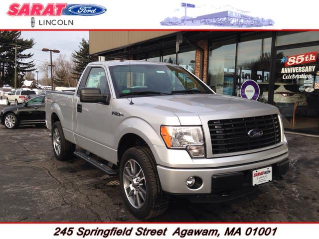 2014 ford f 150 4x4 stx 2dr regular cab styleside 6 5 ft sb for sale in agawam massachusetts. Black Bedroom Furniture Sets. Home Design Ideas