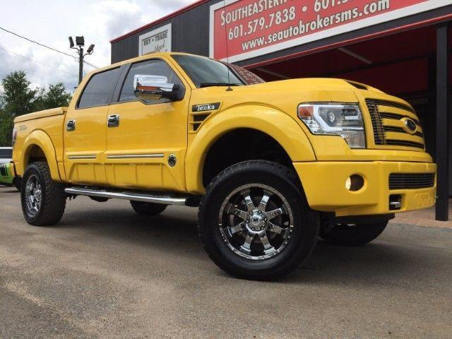 2014 ford f 150 lariat crew cab 4wd tonka truck custom lifted for sale in miami florida. Black Bedroom Furniture Sets. Home Design Ideas