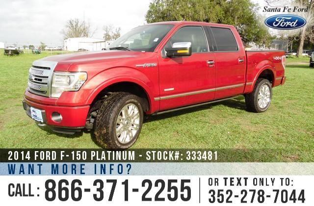 2014 Ford F-150 Platinum - Sticker $55,275 - YOUR PRICE