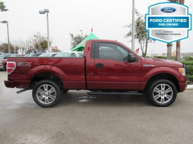 2014 ford f 150 stx 4x4 stx 2dr regular cab styleside 6 5. Black Bedroom Furniture Sets. Home Design Ideas