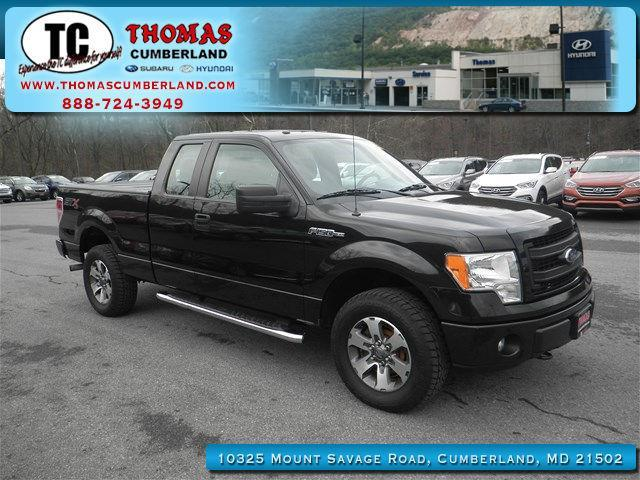 2014 ford f 150 stx 4x4 stx 4dr supercab styleside 6 5 ft sb for sale in cumberland maryland. Black Bedroom Furniture Sets. Home Design Ideas