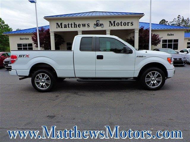 2014 ford f 150 stx 4x4 stx 4dr supercab styleside 6 5 ft sb for sale in goldsboro north. Black Bedroom Furniture Sets. Home Design Ideas