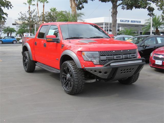 2014 Ford F-150 SVT Raptor 4x4 SVT Raptor 4dr SuperCrew