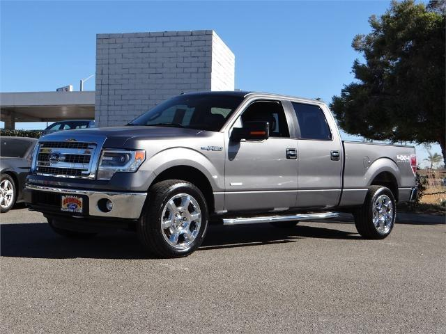 2014 Ford F-150 XL 4x4 XL 4dr SuperCrew Styleside 5.5