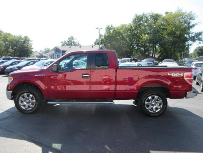 2014 ford f 150 xlt 4x4 xlt 4dr supercab styleside 6 5 ft sb for sale in central city illinois. Black Bedroom Furniture Sets. Home Design Ideas