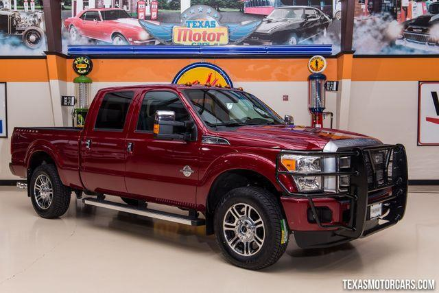 2014 Ford F-250 Super Duty Platinum 4x4 Platinum 4dr