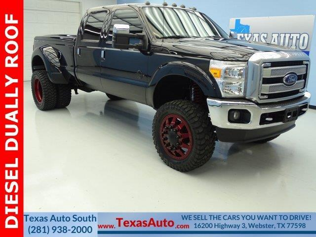 2014 Ford F-350 Super Duty Platinum 4x4 Platinum 4dr