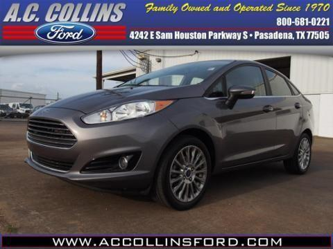 2014 Ford Fiesta 4 Door Sedan For Sale In Pasadena Texas