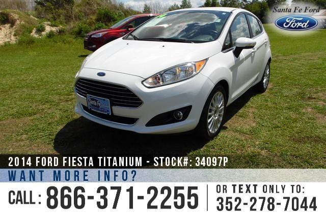 2014 Ford Fiesta Titanium - 14K Miles - Finance Here!