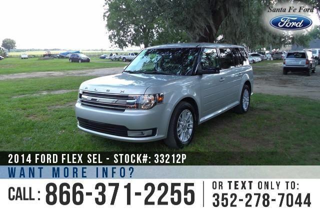 2014 Ford Flex SEL - 7 Passenger - Homelink
