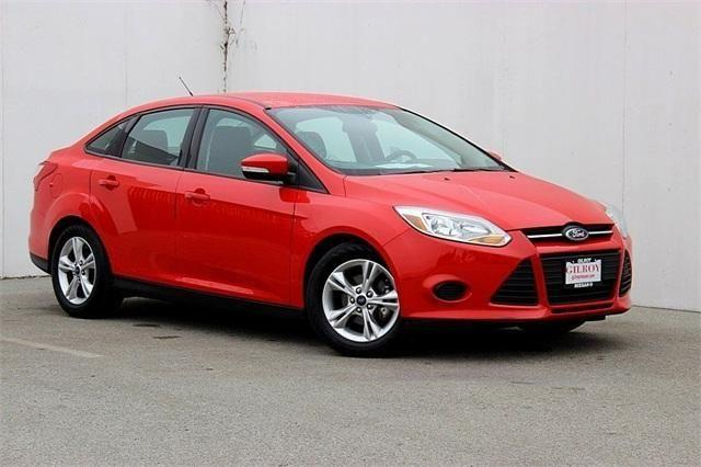 2014 ford focus 4d sedan se for sale in gilroy california. Black Bedroom Furniture Sets. Home Design Ideas