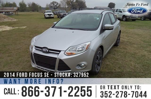 2014 Ford Focus SE - SAVE thousands on ALL New Ford