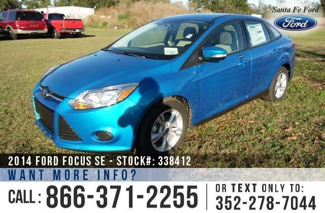 2014 Ford Focus SE - Window Sticker $20,535 - On-Site
