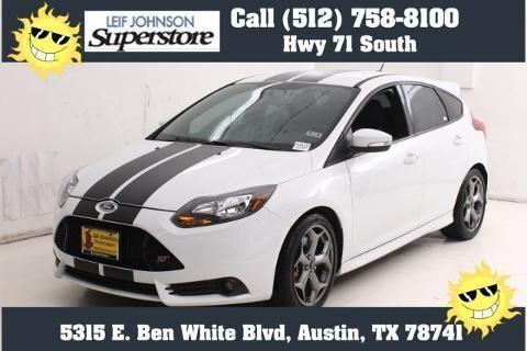 2014 Ford Focus St 4 Door Hatchback For Sale In Buda