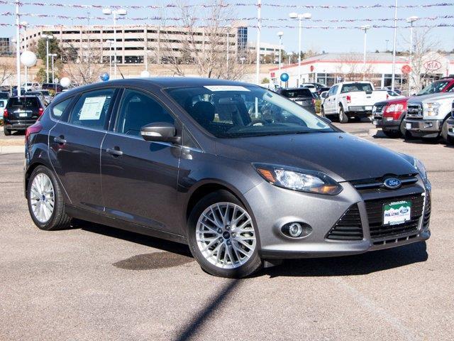 2014 Ford Focus Titanium Titanium 4dr Hatchback
