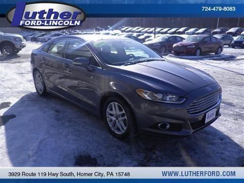 2014 ford fusion 4 door sedan for sale in homer city pennsylvania classified. Black Bedroom Furniture Sets. Home Design Ideas