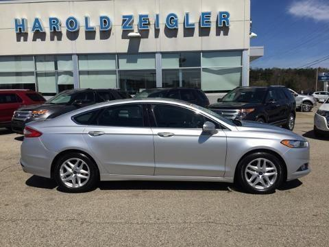 2014 Ford Fusion 4 Door Sedan For Sale In Lowell Michigan