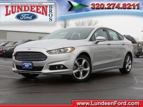 2014 ford fusion 4 door sedan for sale in annandale minnesota classified. Black Bedroom Furniture Sets. Home Design Ideas
