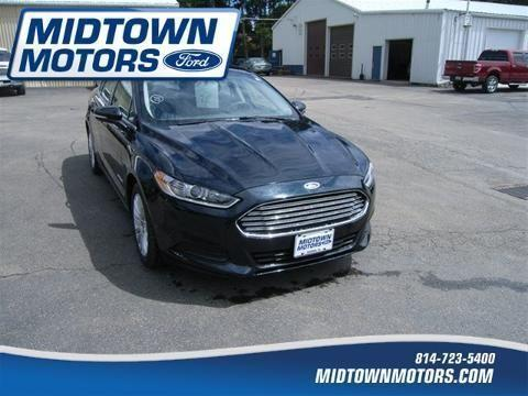2014 ford fusion hybrid 4 door sedan for sale in north for Warren midtown motors ford