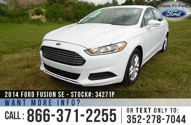 2014 Ford Fusion SE - 27K Miles - Finance Here!