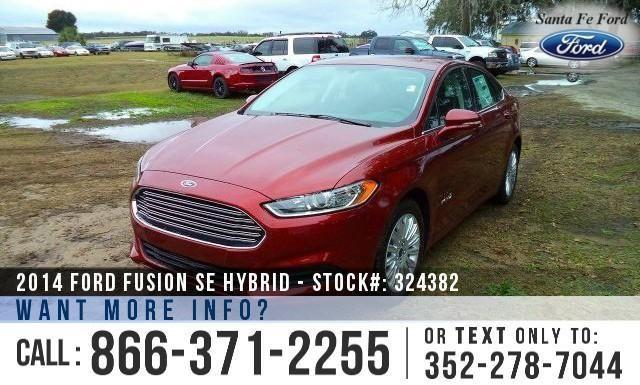 2014 Ford Fusion SE Hybrid - Back-up Cam - Keyless