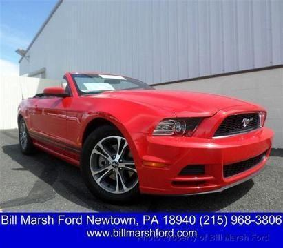 2014 ford mustang 2 door convertible for sale in george school pennsylvania classified. Black Bedroom Furniture Sets. Home Design Ideas
