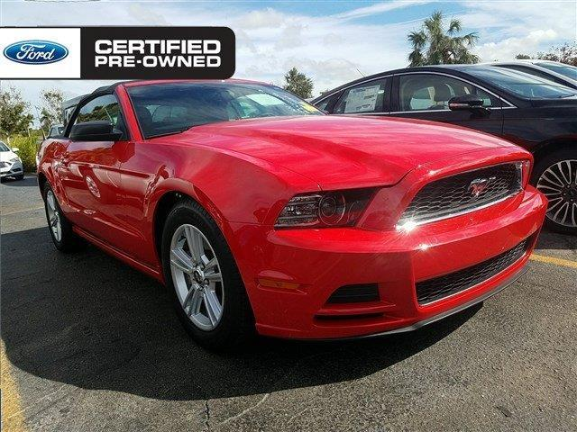 2014 ford mustang v6 v6 2dr convertible for sale in sarasota florida classified. Black Bedroom Furniture Sets. Home Design Ideas