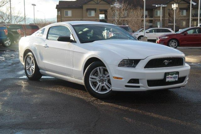 2014 ford mustang v6 v6 2dr coupe for sale in denver. Black Bedroom Furniture Sets. Home Design Ideas