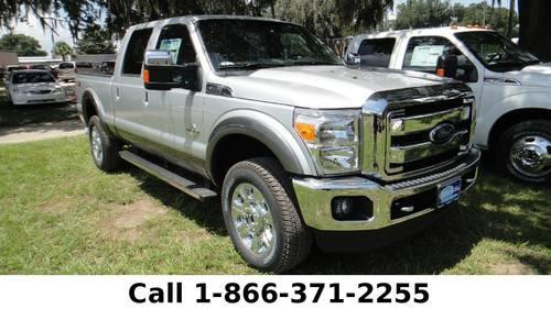 2014 Ford Super Duty F-350 Srw Lariat - Leather Seats -