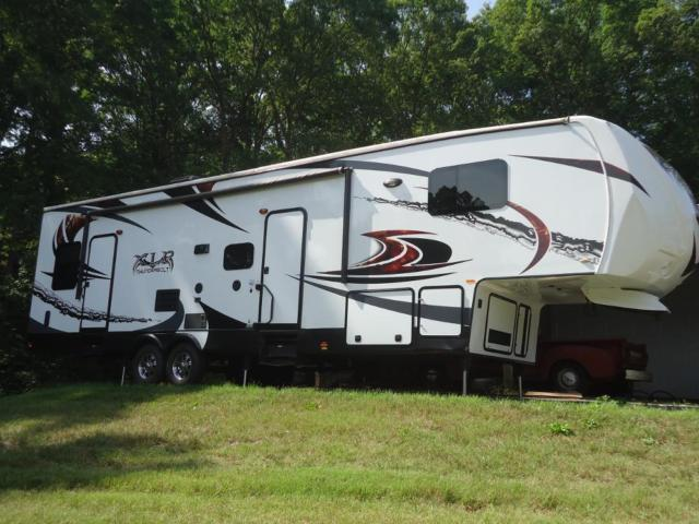 2014 Forest River 38' XLR Thunderbolt Toy Hauler