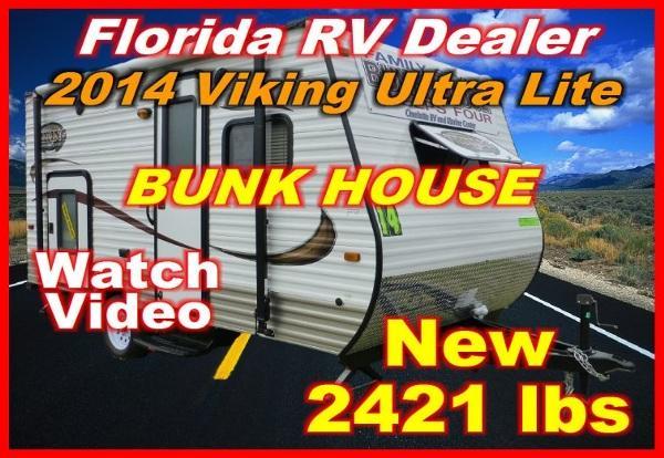 2014 forest river viking ultra light 16b bunkhouse for sale in port charlotte florida. Black Bedroom Furniture Sets. Home Design Ideas